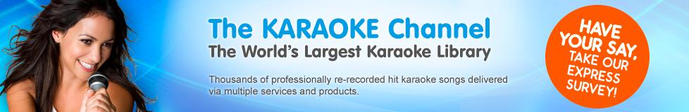 Resultado de imagen de the karaoke channel banner